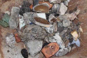 Schwerstofffalle Rechengut Abwasserfalle