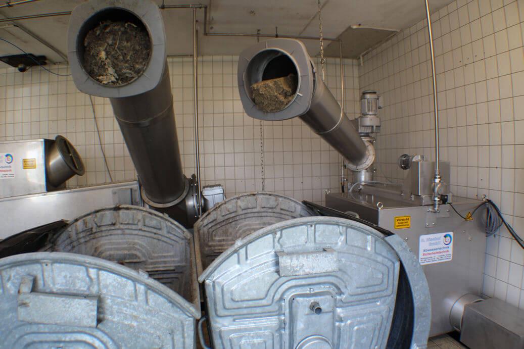 RB-Feinsiebtrommel Feinsieb Abwassertechnik Kläranlage Klärwerk mechanische Abwasserreinigung