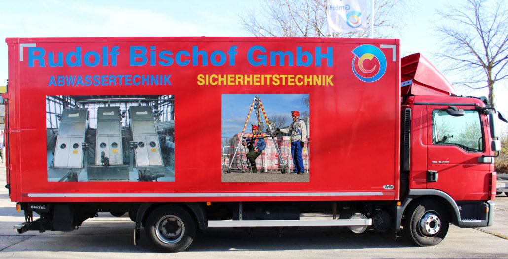 Rudolf Bischof GmbH Service-Lkw MAN