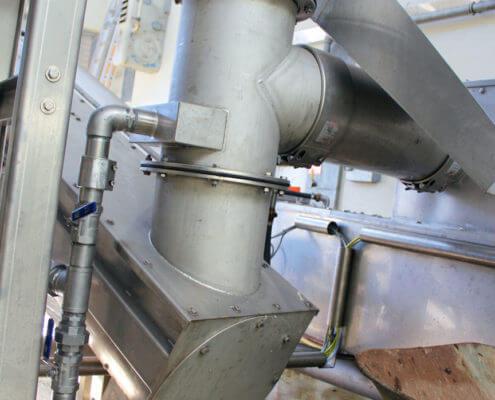 Klärwerk Balingen Kläranlage Störstofffalle Abwasserreinigung Rechengutpresse Rechengut Schwerstoffabscheider